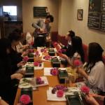 Lunch&Flower Lesson at ASHIYA