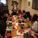 Lunch&Flower Lesson at ASHIYA