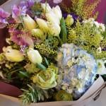 Bouquet 「チューリップ」が誕生花の女性へプレゼント